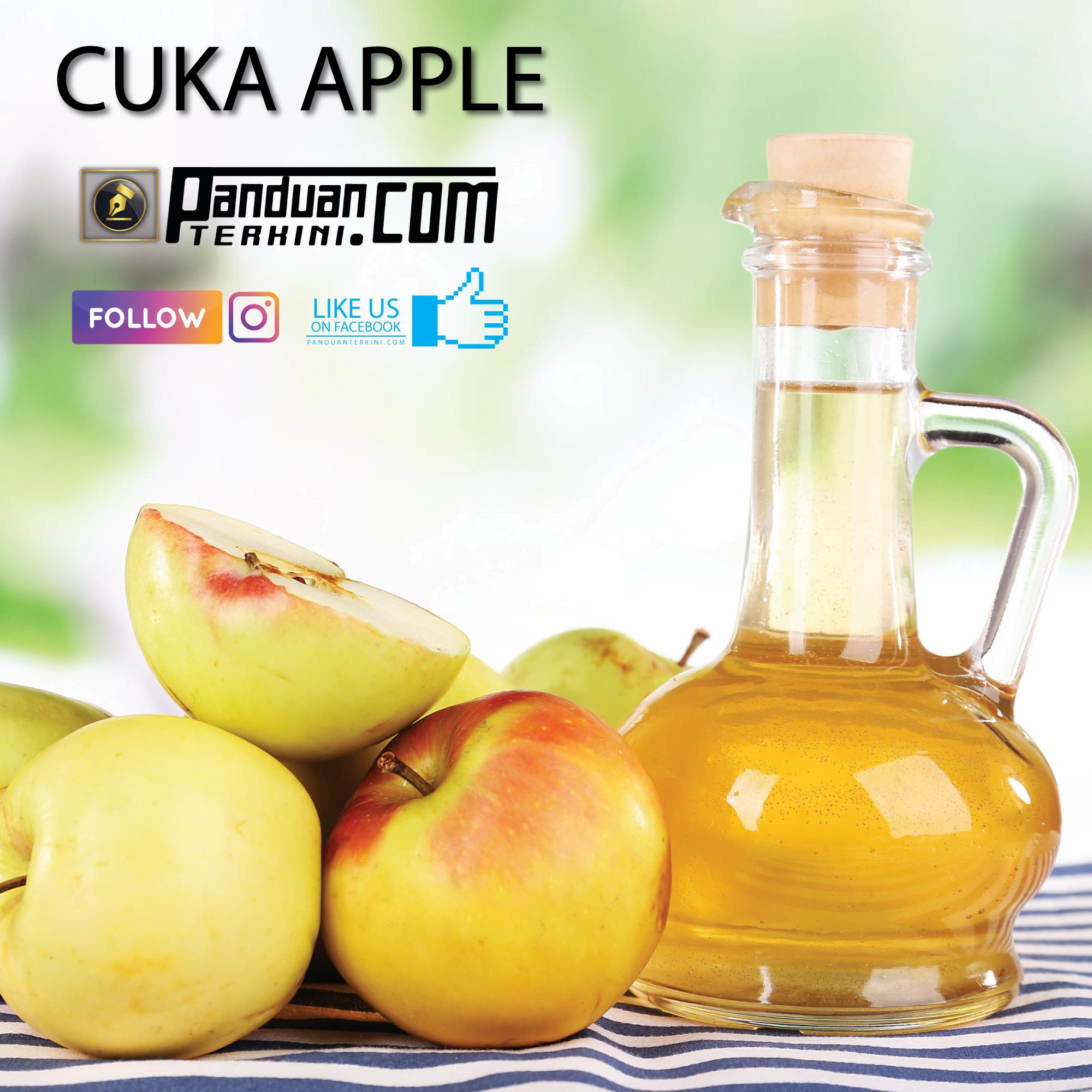 Petua Hilangkan Gastrik gunakan Cuka Apple