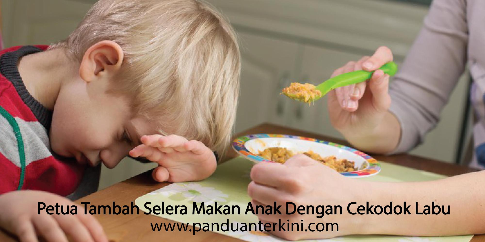 Petua Tambah Selera Makan Anak Dengan Cekodok Labu