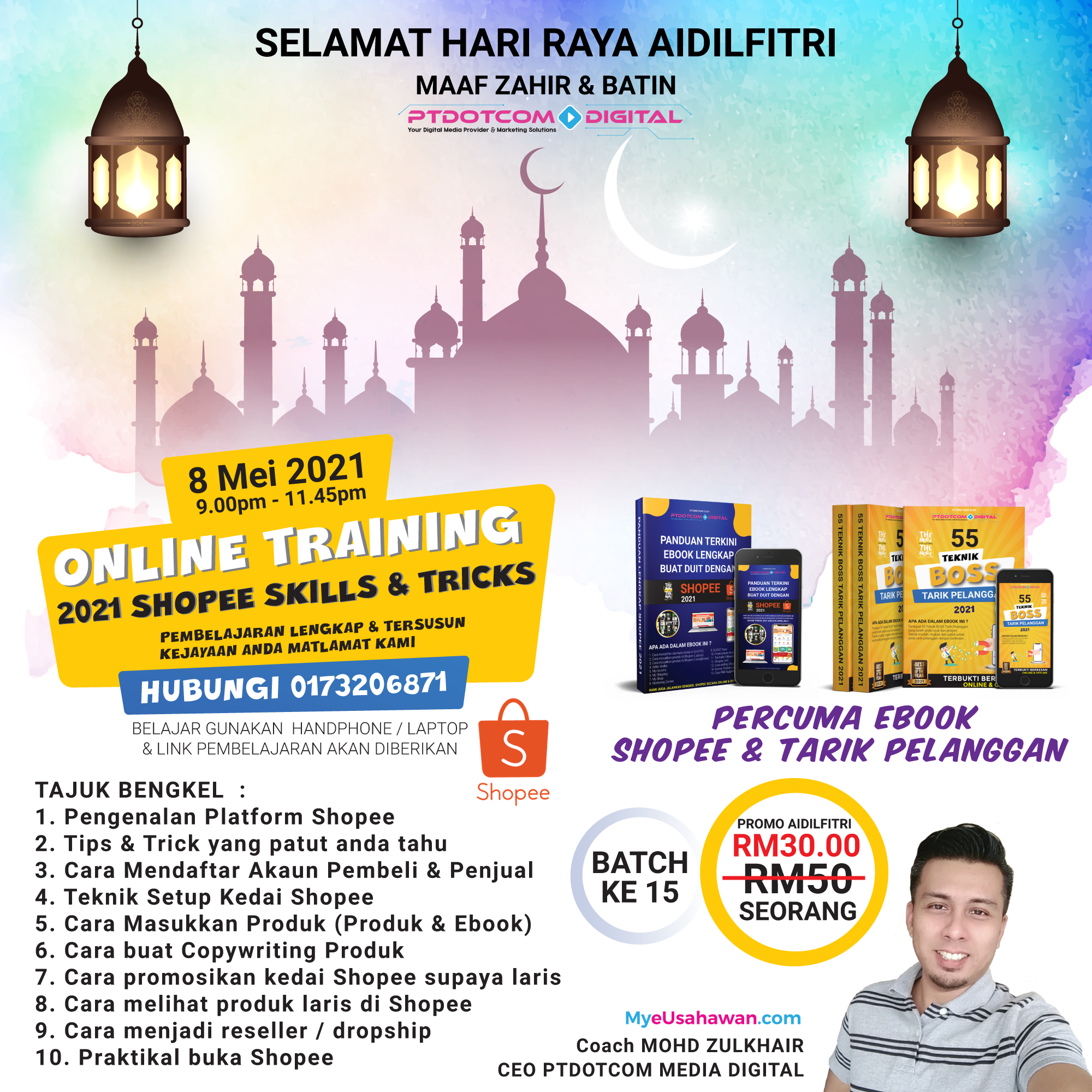 Kelas Online Shopee Murah & Lengkap